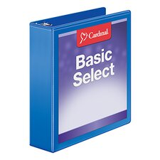 BasicSelect ClearVue Round Ring Binder (Set of 36)