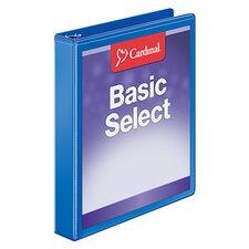 BasicSelect ClearVue Round Ring Binder (Set of 144)