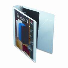 "Clearvue Premium Slant-D Vinyl Presentation Binder, 1.5"" Capacity"