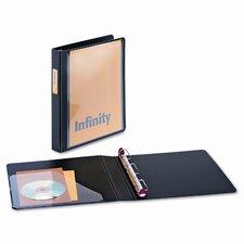 """Infinity Clearvue Locking Slant-D Ring Binder, 1"""" Capacity"""