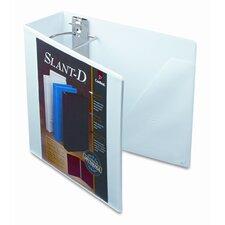 Clearvue Premium Slant-D Vinyl Presentation Binder, 4in Capacity