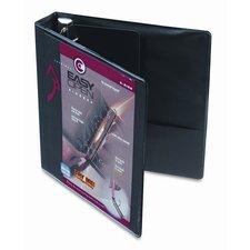 "Recycled Clearvue Easyopen D-Ring Presentation Binder, 1.5"" Capacity"