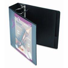 """Recycled Clearvue EasyOpen Vinyl D-Ring Presentation Binder, 3"""" Capacity"""