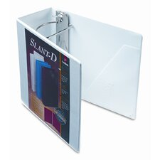 Clearvue Premium Slant-D Vinyl Presentation Binder, 5in Capacity