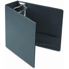 Recycled Leather Grain Vinyl EasyOpen D-Ring Binder