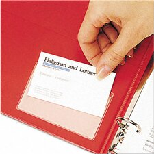 Top Load Holdit! Poly Business Card Holders (10/Pack) (Set of 2)