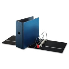 "D-Ring Binder, 5"" Capacity, 11""x8-1/2"", Medium Blue"