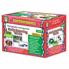 Photographic Learning Flash Cards Set