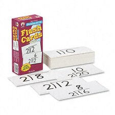 Division Facts 0-12 Flash Cards