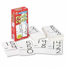 Subtraction Facts 0-12 Flash Cards