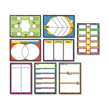Graphic Organizer Bulletin Board Cut Out Set