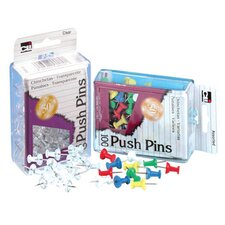 Push Pins Clear (Set of 5)