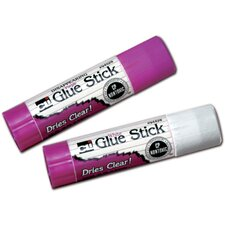 Economy Glue Stick 0.28oz Clear (Set of 14)