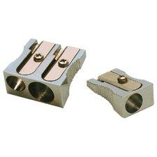 Metal 2-hole Pencil Sharpener (Set of 4)
