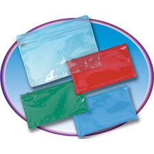 Pencil Pouch with Ziplock Closure (Set of 4)