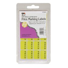 Self Adhesive Price Marking Label 300 Count