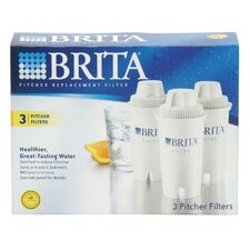 Brita Replacement Pitcher Filter (Set of 3)
