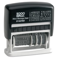 2000 Plus Micro 12 Message Dater Stamp