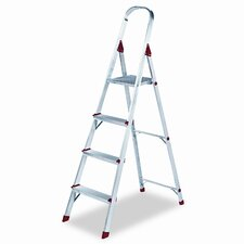 4 ft Aluminum Folding Step Ladder with 200 lb. Load Capacity