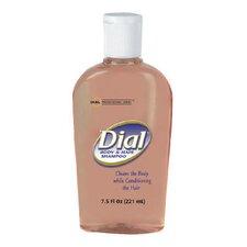 Body and Hair Shampoo Peach Scent Flip Cap Decor Bottle - 7.5-oz.
