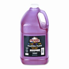 Ready-to-Use Tempera Paint, Red, One Gallon