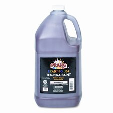 Ready-to-Use Tempera Paint, Brown, One Gallon