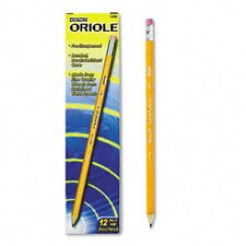 Oriole Woodcase Presharpened Pencil, 12/Pack (Set of 3)