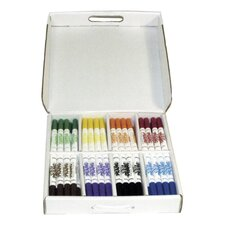 Washable Markers, Conical Tip, Dry Resistant, 96 per Carton, Assorted