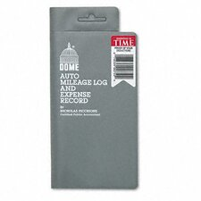 Mileage Log/Expense Record, 3-1/2 x 6-1/2, 140-Page Book