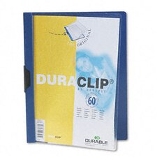 Vinyl DuraClip Report Cover (60 Pages) (Set of 3)