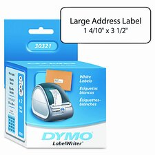 30321 Address Labels, 1-2/5 X 3-1/2, 520/Box
