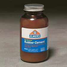 Rubber Cement W/applc 8oz (Set of 2)