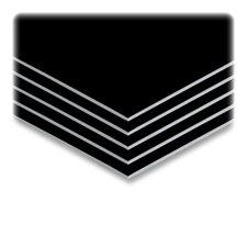 "Sturdy Foam Board, 3/16""Thick, 20""x30"", 10/CT, Black/White"