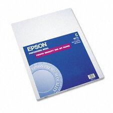 S041171 Matte Presentation Paper, 27 Lbs., 17 X 22, 100 Sheets/Pack