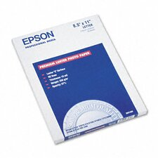 """S041405 Ultra Premium Luster Photo Paper, 8.5"""" x 11"""", 50 Sheets/Pack"""