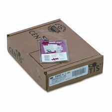 Oxford Utili-Jacs Heavy-Duty Clear Plastic Envelopes, 2 1/4 X 3 1/2, 50/Box