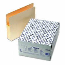 "Convertible File, Straight Cut, 3 1/2"" Expansion, Letter, 25/Box"