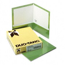 Oxford Two-Pocket Laminated Folder, 100-Sheet Capacity