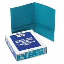 Oxford Twin-Pocket Linen Paper Portfolio