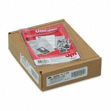 Oxford Utili-Jacs Heavy-Duty Clear Plastic Envelopes, 4 X 6, 50/Box
