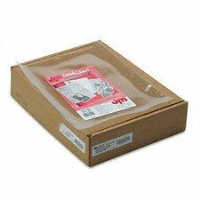 Oxford Utili-Jacs Heavy-Duty Clear Plastic Envelopes, 9 X 12, 50/Box