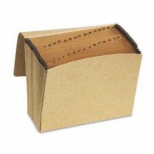 Essentials Essentials 1-31 Expanding File, 31 Pockets, Kraft, Letter