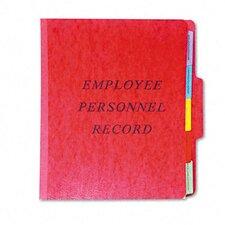 Vertical Personnel Folders, 1/3 Cut Top Tab, Letter