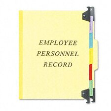 Hanging Personnel Folders, 1/3 Cut Top Tab, Letter