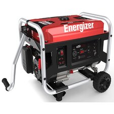 Energizer Portable 3,500 Watt Gasoline Generator with Manual Recoil Start