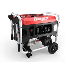 Energizer Portable 7,250 Watt Gasoline Generator with Manual Recoil Start