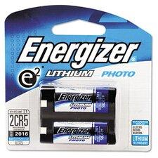 e² Lithium Photo Battery, 2CR5, 6V