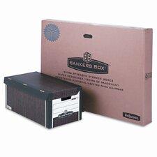 Bankers Box Fastfold Flip Top File Storage Box, Letter, 12/Carton