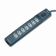 Power Guard Surge Protector w/Phone/DSL Protect, 7 Outlets, 6ft Cord