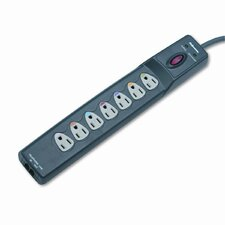 Power Guard Surge Protector with Phone/Dsl Protect, 7 Outlets, 12Ft Cord
